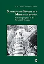 Structure and Process in a Melanesian Society af Carrier