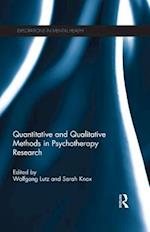 Quantitative and Qualitative Methods in Psychotherapy Research (Explorations in Mental Health)