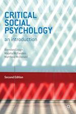Critical Social Psychology af Brendan Gough, Matthew McDonald, Majella McFadden