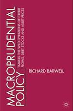 Macroprudential Policy af Richard Barwell