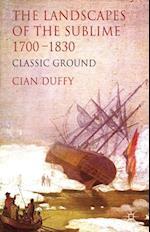 Landscapes of the Sublime 1700-1830 af Cian Duffy
