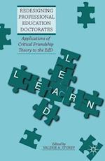 Redesigning Professional Education Doctorates af Valerie A. Storey