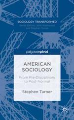 American Sociology af Stephen Turner