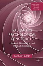 Validating Psychological Constructs (Palgrave Studies in the Theory and History of Psychology)