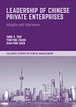 Leadership of Chinese Private Enterprises (Palgrave Studies in Chinese Management)