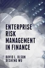 Enterprise Risk Management in Finance af Desheng Dash Wu, David L. Olson