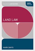 Land Law (Palgrave Law Masters)