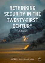 Rethinking Security in the Twenty First Century
