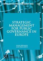 Strategic Management for Public Governance in Europe (Governance and Public Management)