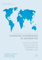 Changing Governance in Universities (Palgrave Studies in Global Higher Education)