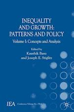 Inequality and Growth: Patterns and Policy (INTERNATIONAL ECONOMIC ASSOCIATION SERIES)