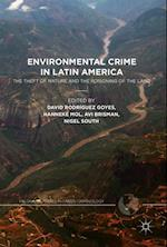 Environmental Crime in Latin America (Palgrave Studies in Green Criminology)