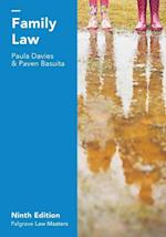 Family Law (Palgrave Law Masters)