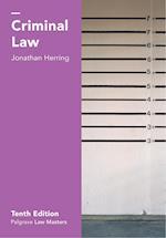 Criminal Law (Palgrave Law Masters)