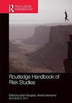 Routledge Handbook of Risk Studies af Adam Burgess