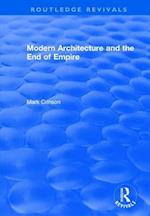Modern Architecture and the End of Empire