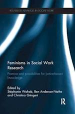 Feminisms in Social Work Research (Routledge Advances in Social Work)