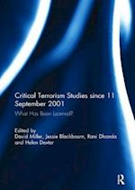 Critical Terrorism Studies Since 11 September 2001