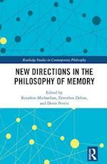 New Directions in the Philosophy of Memory af Kourken Michaelian