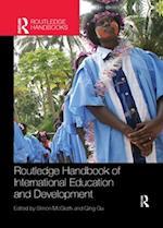 Routledge Handbook of International Education and Development (Routledge International Handbooks)