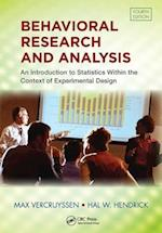 Behavioral Research and Analysis