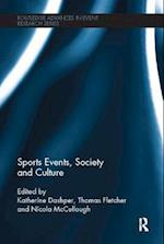 Sports Events, Society and Culture af Katherine Dashper