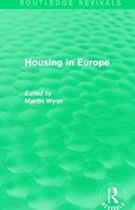 : Housing in Europe (1984) (Routledge Revivals)