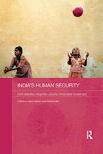 India's Human Security (Routledge Studies in South Asian Politics)