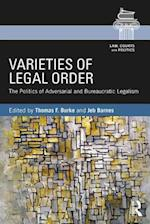 Varieties of Legal Order (Law Courts and Politics)
