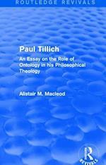 : Paul Tillich (1973) (Routledge Revivals)