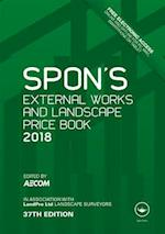 Spon's External Works and Landscape Price Book 2018 (Spon's Price Books)