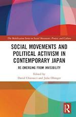 Social Movements and Political Activism in Contemporary Japan af David Chiavacci