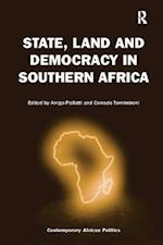 State, Land and Democracy in Southern Africa (Contemporary African Politics)