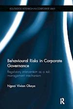Behavioural Risks in Corporate Governance (Routledge Research in Corporate Law)