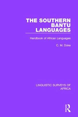 The Southern Bantu Languages