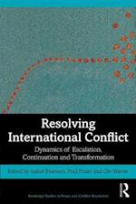 Resolving International Conflict (Routledge Studies in Peace and Conflict Resolution)