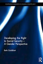 Developing the Right to Social Security af Beth Goldblatt