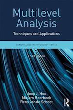Multilevel Analysis (Quantitative Methodology Series)
