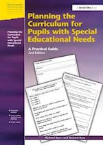 Planning the Curriculum for Pupils with Special Educational Needs
