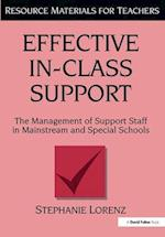 Effective in-Class Support