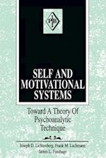 Self and Motivational Systems (PSYCHOANALYTIC INQUIRY BOOK SERIES)