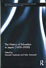 The History of Education in Japan (1600 - 2000) (Routledge Studies in Educational History and Development in Asia)