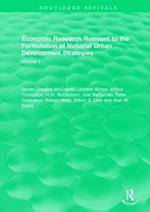 Economic Research Relevant to the Formulation of National Urban Development Strategies (Routledge Revivals)