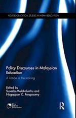 Policy Discourses in Malaysian Education (Routledge Critical Studies in Asian Education)