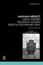 Hannah Arendt (Nomikoi Critical Legal Thinkers)