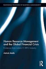 Human Resource Management and the Global Financial Crisis (Routledge Frontiers of Business Management)