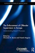 The Enforcement of Offender Supervision in Europe (Routledge Frontiers of Criminal Justice)