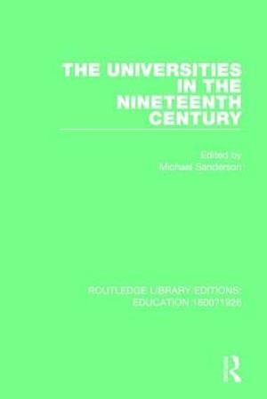 The Universities in the Nineteenth Century
