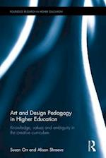 Art and Design Pedagogy in Higher Education (Routledge Research in Higher Education)
