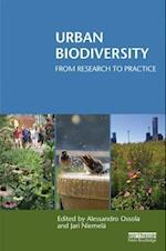 Urban Biodiversity (Routledge Studies in Urban Ecology)